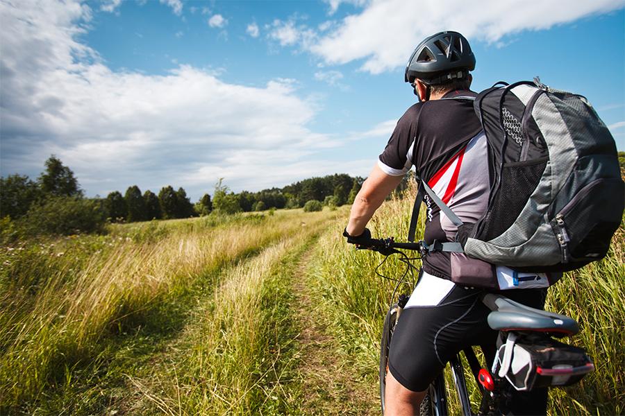 Radfahren Mit Bester Orientierung