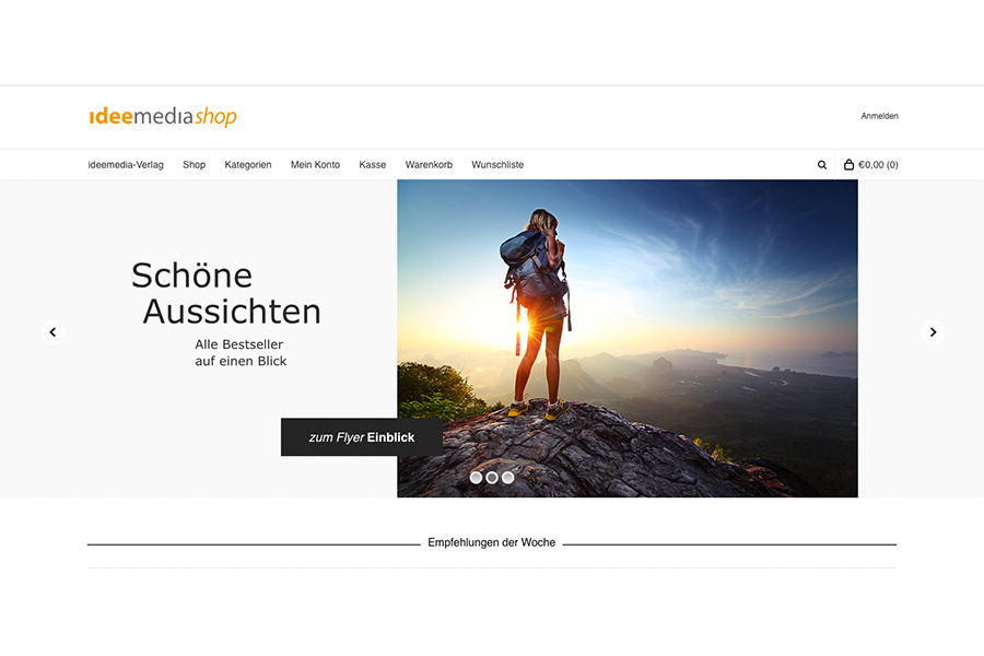 Neuer Onlineshop – Ideemediashop.de